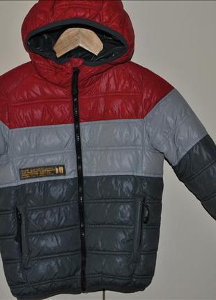 Демисезонная куртка zara kids
