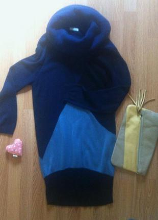 Теплое платье promod xl (или oversized на s-m)