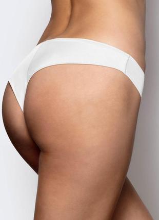 Женские нейлоновые трусики бразилиана белого цвета atlantic 2blp 052