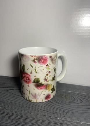 Чашка «квіти»