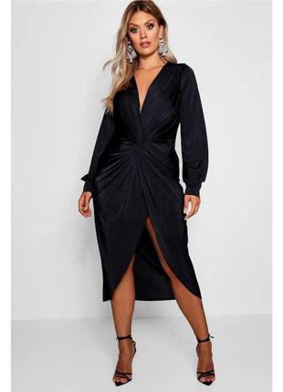 Шикарное платье, размер 18