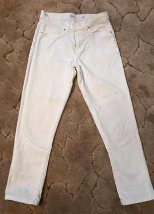 Белые джинсы cubus