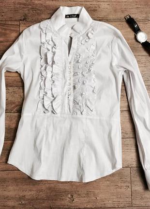 Красивая нарядная стильная блуза блузка рубашка в офис или на торжество