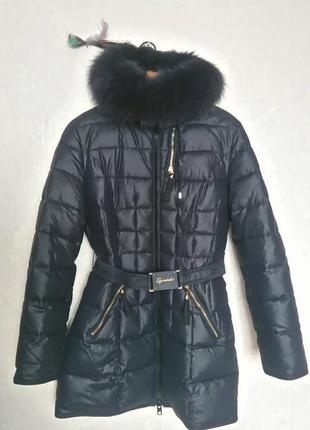 Теплое зимнее пальто на холлофайбере!