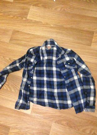 Клетчатая рубашка mossimo supply