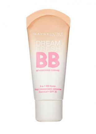 Bb-крем maybelline dream fresh мгновенное сияние тотальный