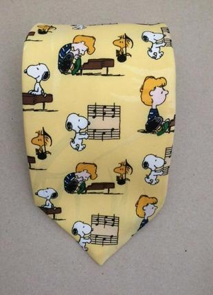 Peanuts 100% поліестерова краватка, вінтаж