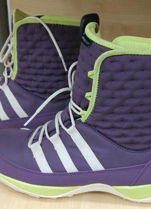 Зимние термо ботинки adidas libria pearl cw