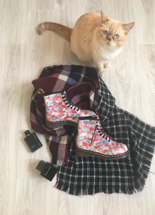 Оригинальные кожаные ботинки/рыбка/мартенс/мартенсы от dr.martens