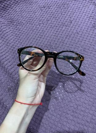 Имиджевые леопардовые очки