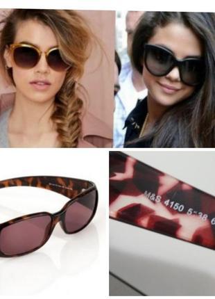Фирменные базовые солнцезащитные очки в черепашечьей оправе тренд качество!!!