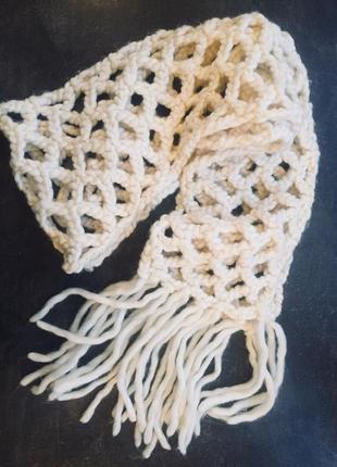 Шикарний шарф mexx ,пряжа мериноса
