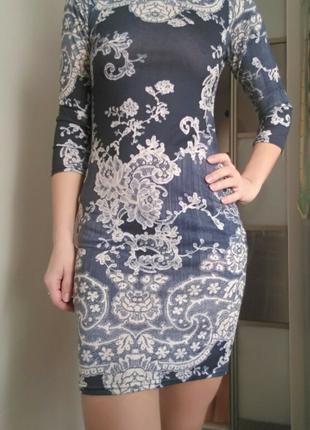 Платье сукня приталенное
