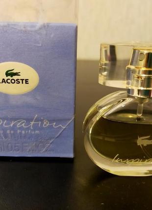 Парфюмированная вода lacoste inspiration