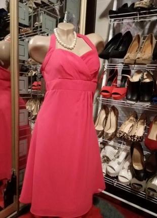 Платье воздушное, шифоновое