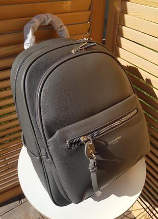 В наличии стильный деловой женский рюкзак # 6418 david jones