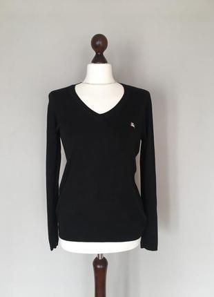 Брендовый базовый свитер джемпер водолазка гольф бренд burberry