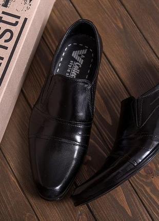 Мужские туфли из натуральной кожи ava de lux(40-45р)