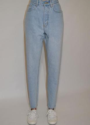Джинсы момы,бойфренды высокая посадка,мом джинсы colours of the world.