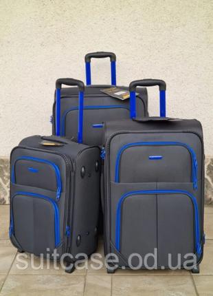 Прочный надежный чемодан серии wings poland