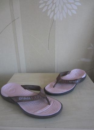 Вьетнамки crocs, р.7 (37-38)