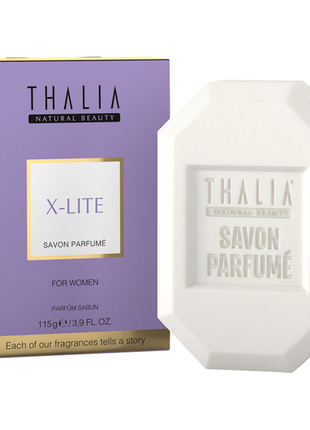 Парфумоване мило thalia x-lite для жінок, 115 г