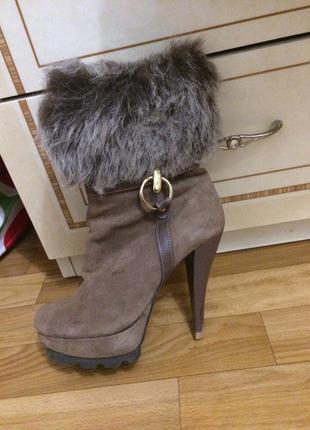 Поделиться:  замшевые ботиночки