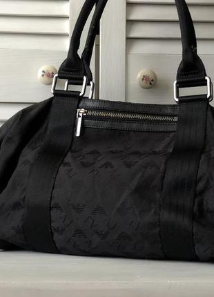 Armani сумка монограмная