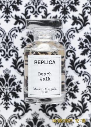 Нишевый парфюм maison martin margiela replica аромат beach walk edt духи 7 мл