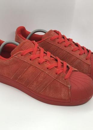 Кроссовки adidas originals superstar perf pack red оригинал