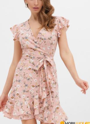 Платье на запах