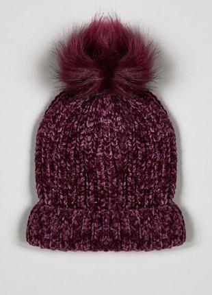 Велюровая шапочка
