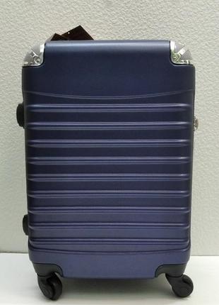 Дорожный пластиковый чемодан cravitt маленький (синий) 21-08-031