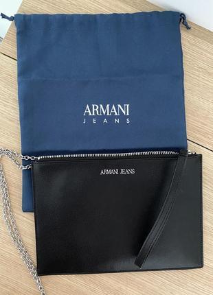 Клатч/сумка armani jeans