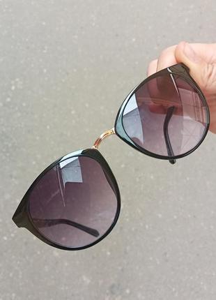 Стильные круглые очки очки кошки 3 категория защиты из 4 существующих