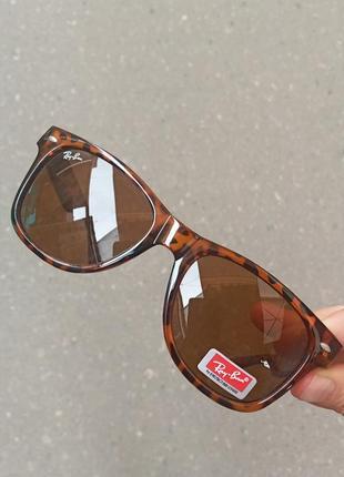 Стильные леопардовые очки вайфареры унисекс италия