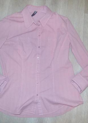 Рубашка в полоску/клетку