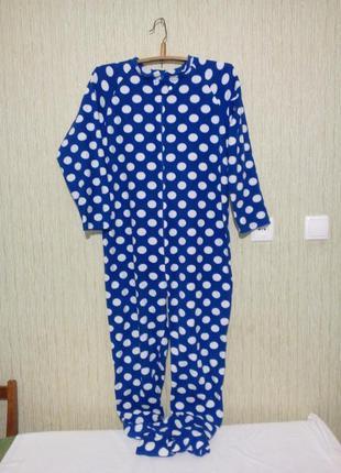 Флисовая пижама кигуруми 48-50 размер