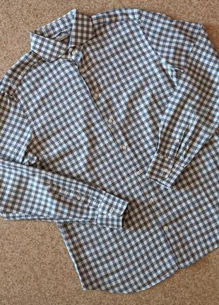 Клетчатая рубашка suitsupply