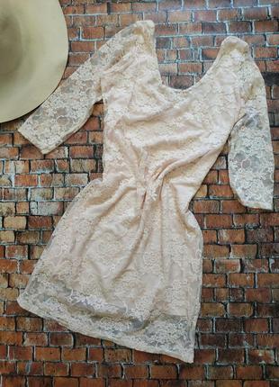 Мини платье по фигуре