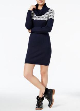 Теплое платье под горло tommy hilfiger
