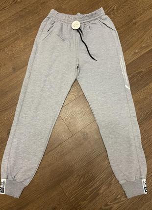 Штаны спортивные джогеры батал, брюки спортивные большой размер, штани спортивні джогери великий розмір