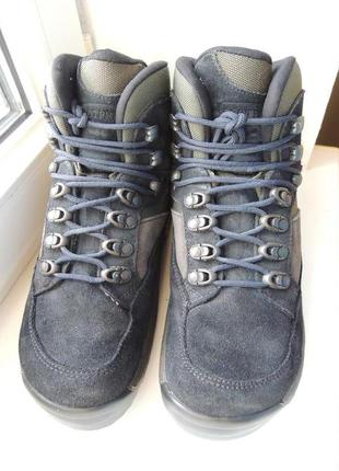 Мембранные ортопедические треккинговые кожаные ботинки footprint birkenstock р.38 (25 см)