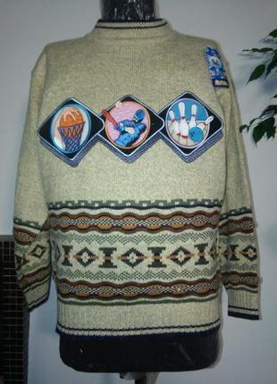 Очень теплый свитер на подростка