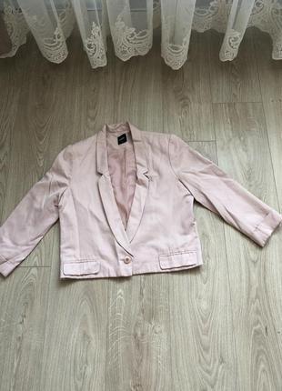 Пиджак короткий до талии