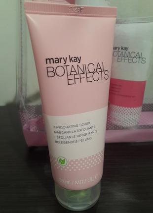 Тонизирующий скраб для лица или набор botanical effects от mary kay