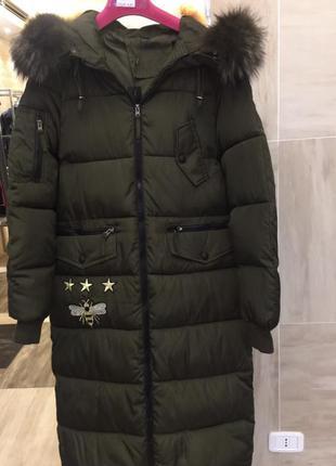 Зимнее пальто на синтепоне🇮🇹италия🇮🇹