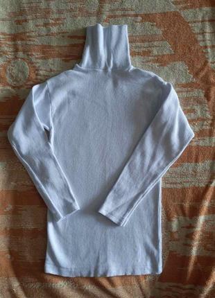Гольф водолазка под горло кофта свитер в школу