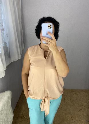 Стильная майка блуза
