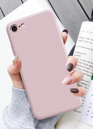 Силиконовый чехол на iphone 6